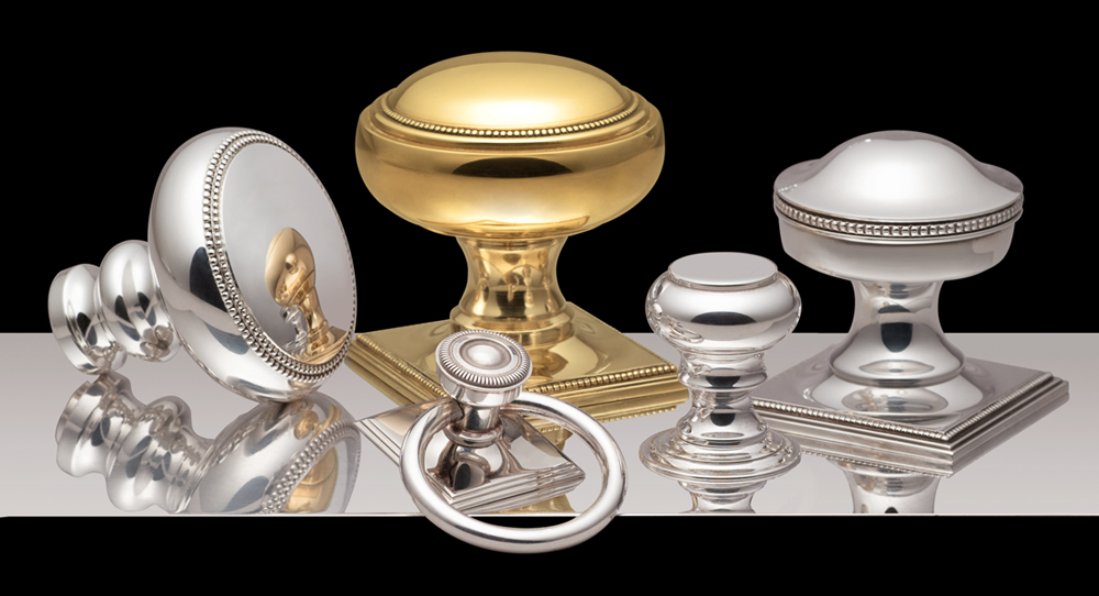 H Theophile Classical knob and cabinet pull designs